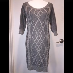 Roxy Grey Sweater Dress